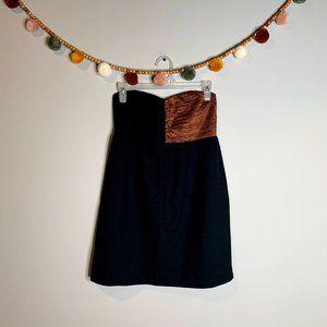 COPY - ASOS Monki strapless color block dress *5 …